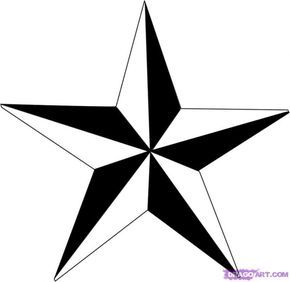 Drawing a perfectly symmetrical star can be tricky. Here is a method I discovered on my own that works every time!