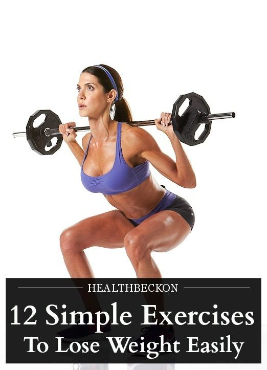 barbell exercises to lose weight