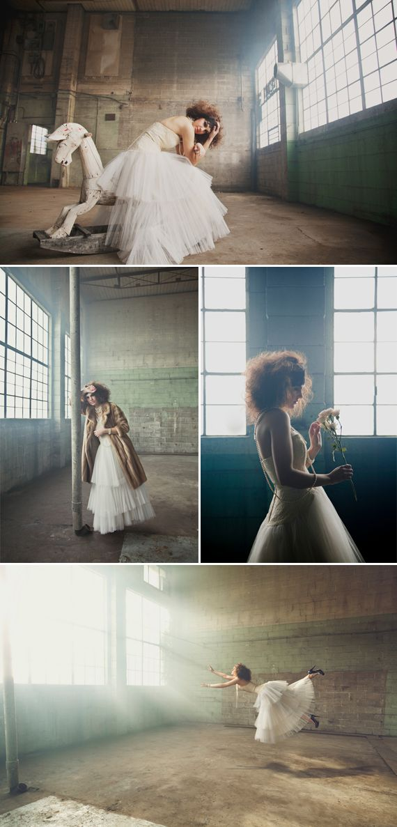 Kelsey Goodwin // Amazing Warehouse Fashion Shoot @melissabaswell - wow love this