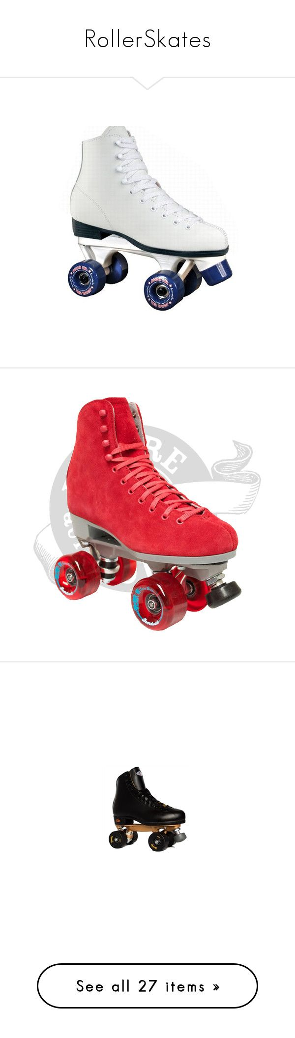 """RollerSkates"" by poildechameau ❤ liked on Polyvore featuring shoes, home, outdoors, roller skates, fillers, accessories, skates, filler, rollerskates and sport"