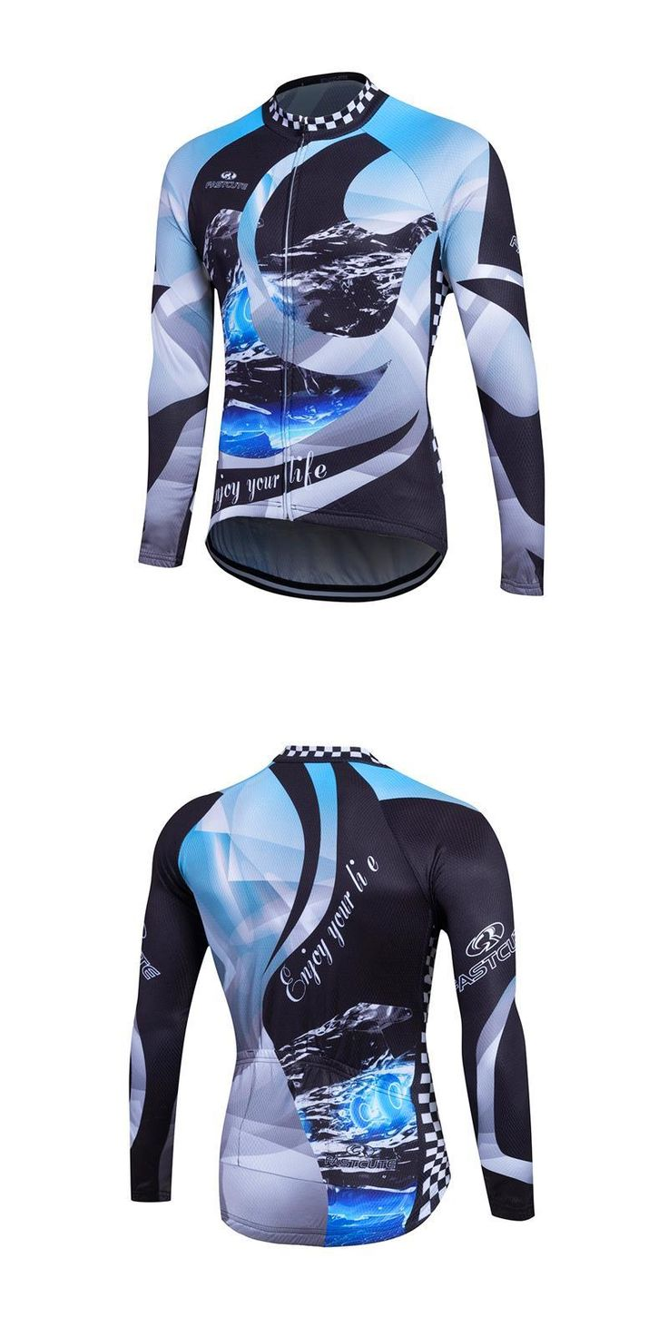 [Visit to Buy] 2017 Men's Autumn Spring Cycling Jerseys Long Sleeve Maillot Ciclismo Maillot Cycliste Bike Clothing for Woman MTB Downhill #Advertisement