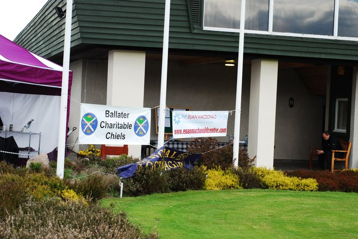 Charity Golf Tournament in aid of the Sandy Barclay Memorial Fund at the Euan MacDonald Centre for MND Research.