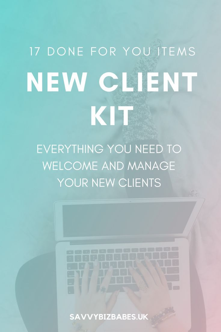 How to write a welcome email to a new client intake