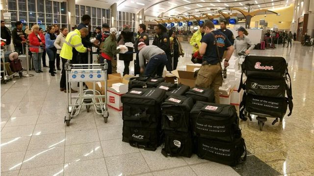 Chick-fil-A comes to rescue during Atlanta airport's power outage