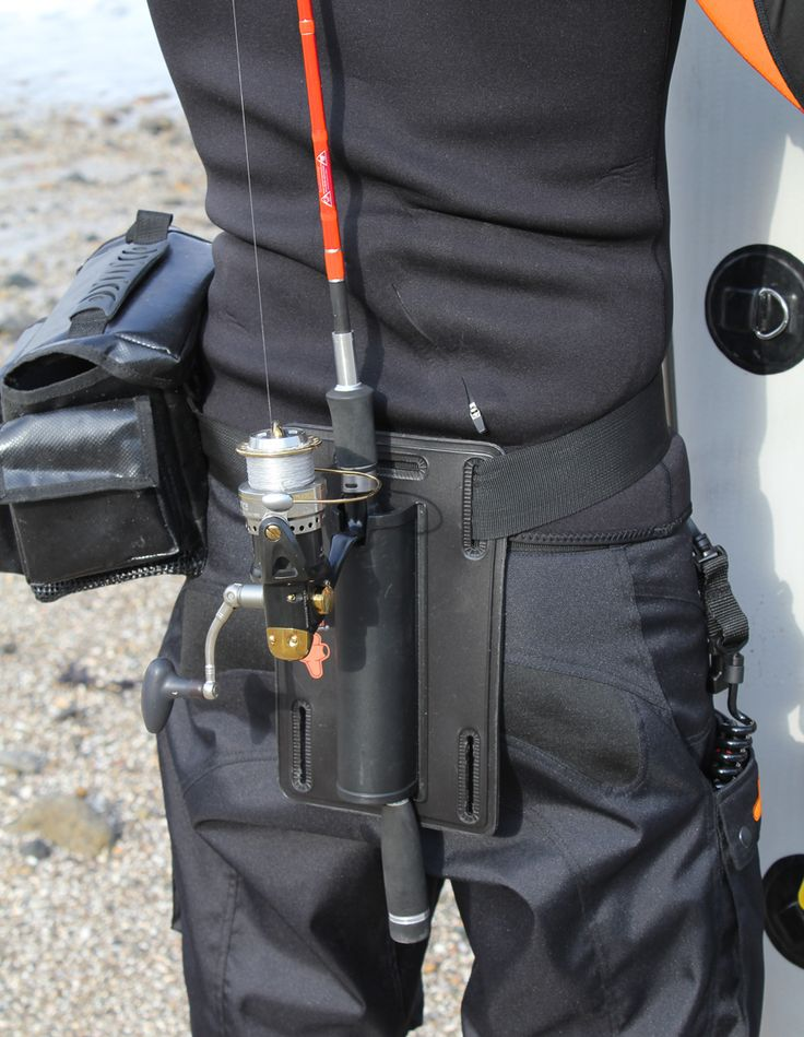 HPA SUP FISHING BELT ROD HOLDER Very Handy, or rather handless, bit of kit.