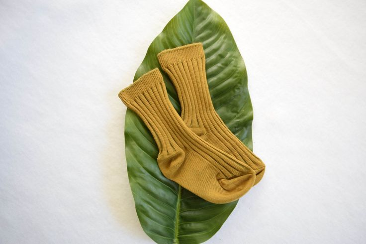 Mustard Gold Socks