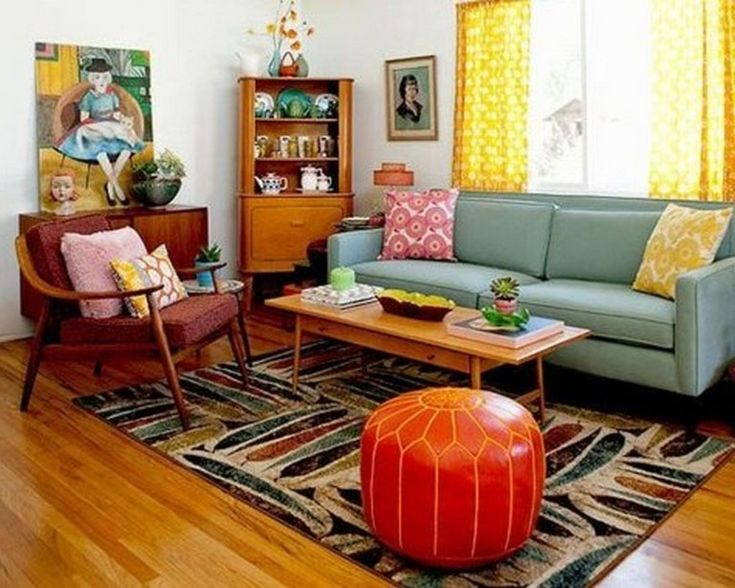 40 Exciting Mid Century Modern Living Room Ideas