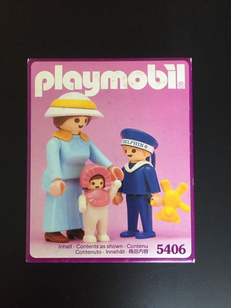 PLAYMOBIL 5406 MOTHER CHILDREN for 5300 Victorian Mansion Dollhouse NISB New BOX #PLAYMOBIL
