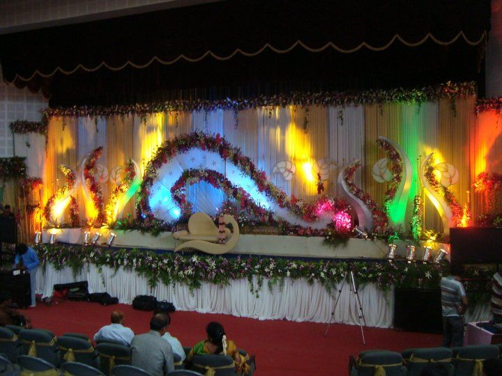 Bangalore Stage Decoration Design 356 Wedding Flower