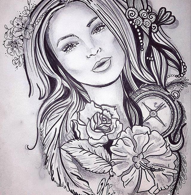 Tattoo sketch tattoos for woman