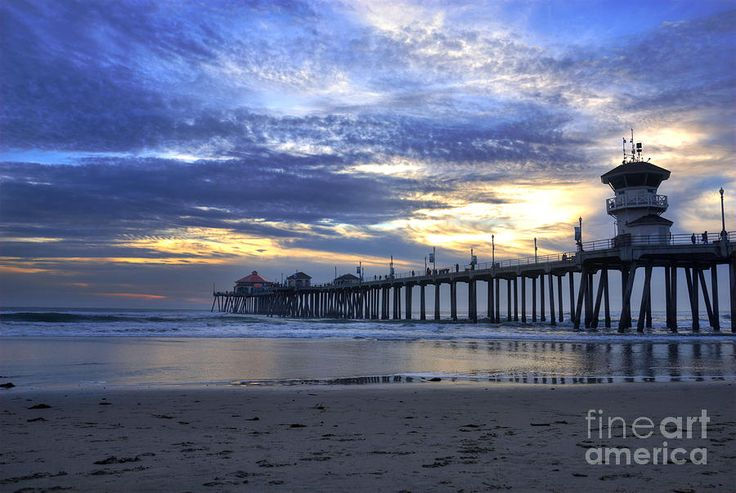 Huntington Beach Pier photo! Check out www.endemicsurfwhere.com for awesome Huntington Beach inspired apparel!