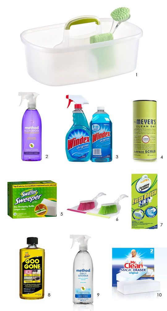 10 Must-Have Essentials for a Well Stocked Housecleaning Kit - f you are moving into a new space, hopefully it has been professionally cleaned, and now the trick is to keep it up. Starting off the move with a kit of new cleaning supplies is the best way to kick things off — here are our top 10 essentials.