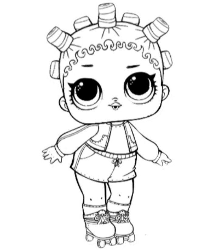 Раскраски Кукла Лол распечатать бесплатно (с изображениями ...
