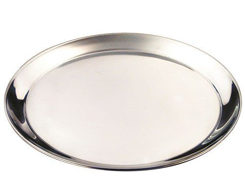 """12"""" Stainless Steel Round Tray"""