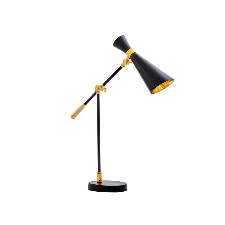 Bungalow 5 Wasp Black Table Lamp