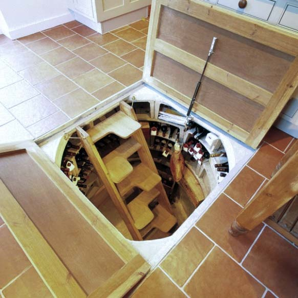 27 best trap doors crawl spaces images on pinterest for Garage wine cellar