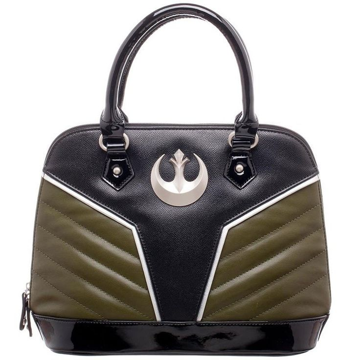 Star Wars Rogue One Jyn Erso handbag. Great handbag with zippers that open fully from side to side.