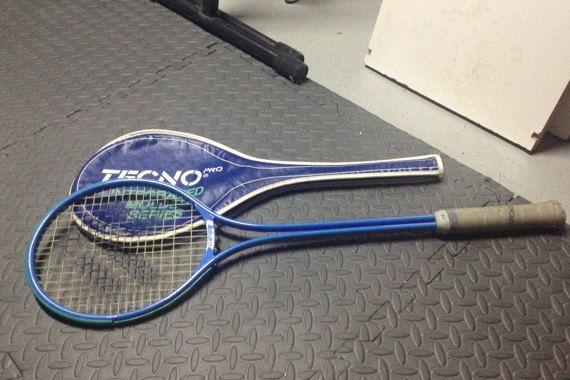 Tecno Squash Racket... Made in Switzerland... by TheMysteryAttic