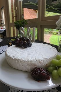 Double Brie I Made by Me - Our Engagement Party