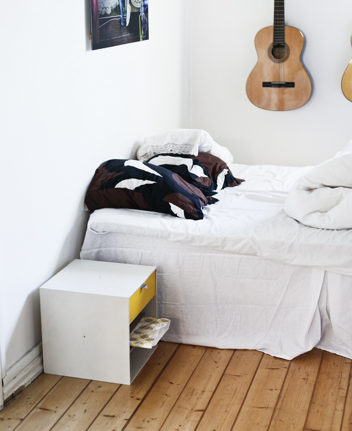 Every bedroom with guitars is a favourite bedroom.