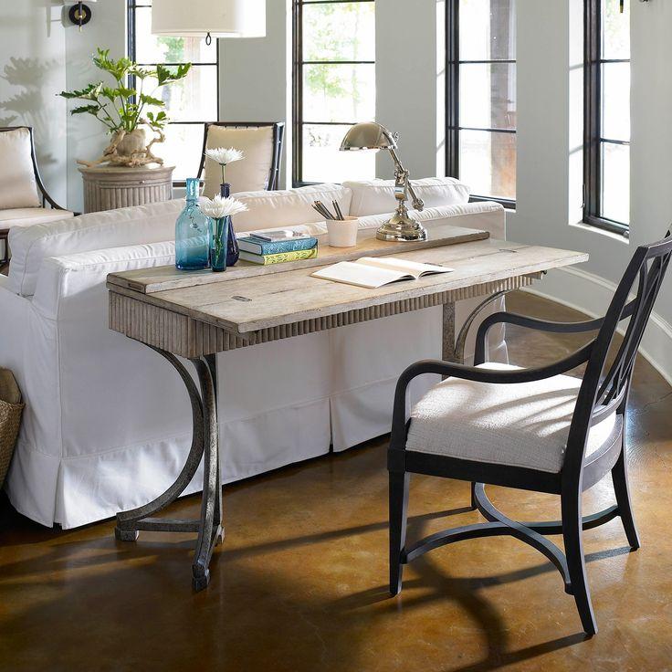Stanley Furniture Coastal Living Resort Curl Tide Flip Top Table Sandy Linen @Sarah Nasafi Grayce