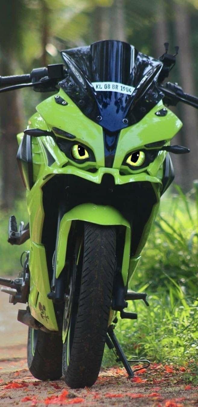 Rs 200 Modified Bike Rs200 Bike Pic Green Bike Bike Photoshoot