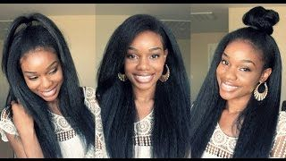 Download video: My NEW Kinky Straight Hairstyle Under $20 ...