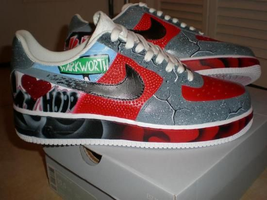 ... nike air force 1 duckboot chmielna Custom Joker Shoes. (Lows) WANT  THEM! Harley Quinn and Her Lover Pinterest ... 052259eff