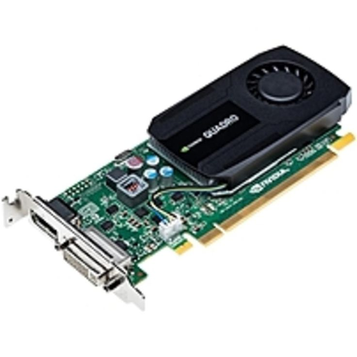 PNY Quadro K420 Graphic Card - 1 GB GDDR3 - PCI Express 2.0 x16 - Low-profile - Single Slot Space Required - 128 bit Bus Width - 3840 x 2160 - Fan Cooler - DirectCompute, OpenCL, DirectX 11...