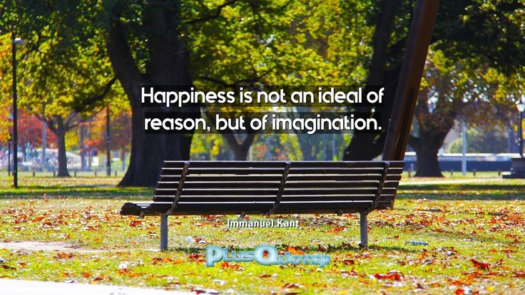 """""""Happiness is not an ideal of reason, but of imagination.""""- Immanuel Kant. Immanuel Kant � biography: Author Profession: Philosopher Nationality: German Born: April 22, 1724 Died: February 12, 1804 Wikipedia : About Immanuel Kant Amazone : Immanuel Kant  #Imagination #Happiness #Ideal #Reason"""