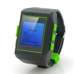 """GPS Watch Tracker """"Geolock"""" – Real Time Tracking, Phone Communication, Route Logging http://camere-spion.info/auto/?page_id=95"""