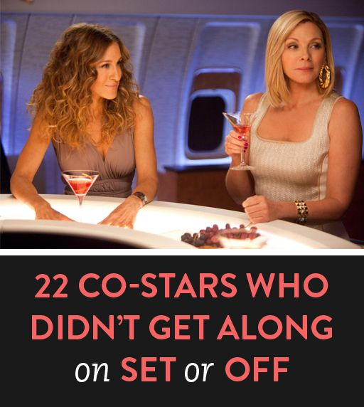 22 co-stars who didn't get along on set or off