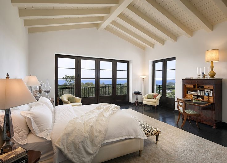 Hope Ranch Residence  Bedroom  Transitional by Harrison Design