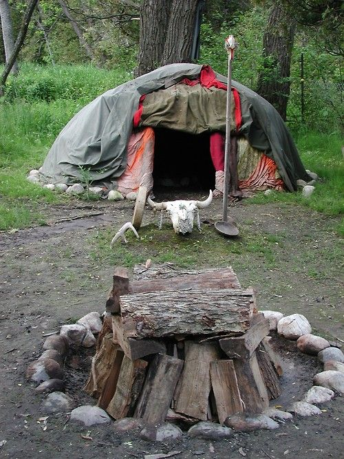 "Once the sweat lodge was constructed, the two creatures went insidea nd Coyote stated he would perform a miracle. He took a rock and broke a deer leg which he had taken into the lodge secretly. He let the giant feel the broken leg and then Coyote spit on it and said ""Leg, become whole!"""