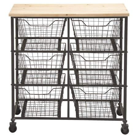 Felicia Utility Cart - this would be great for extra storage in any kitchen