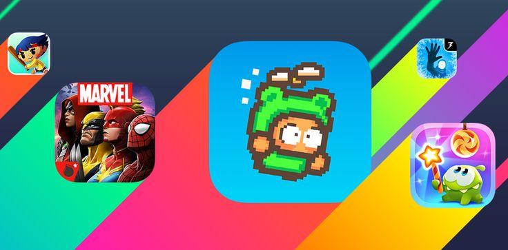 """Llegan al App Store juegos interesantes como """"Evil Trek"""" o """" I am barbarian"""" - http://www.actualidadiphone.com/nuevos-juegos-de-la-semana-2016-4/"""