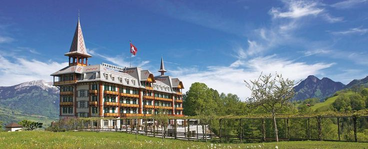 Historisches Jugendstil-Hotel in der Innerschweiz: Paxmontana in Flüeli