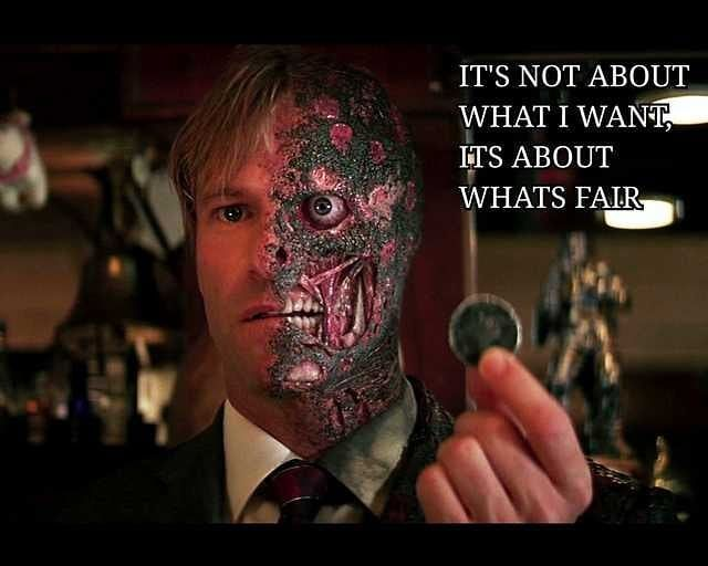 Image result for harvey dent joker fate quote