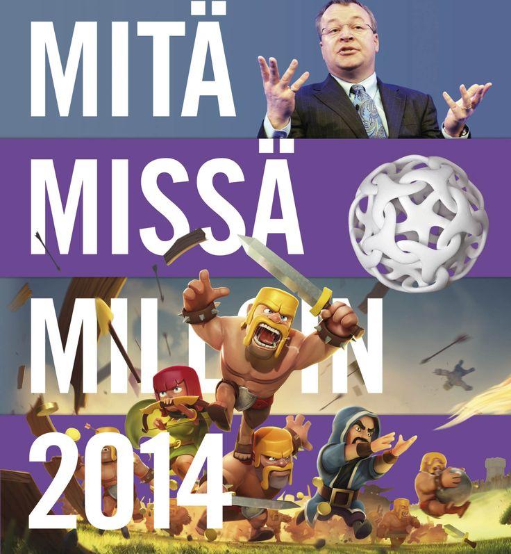 Title: Mitä missä milloin 2014 | Designer: Timo Numminen