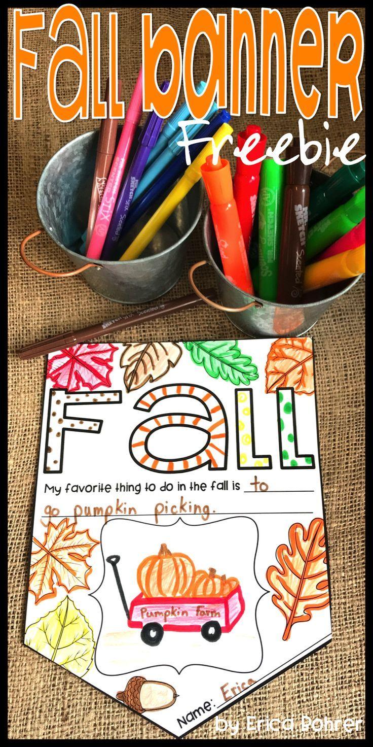 Fall freebie!  Fall Banner