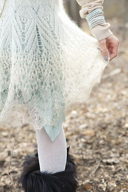 Lacy Mohair dress