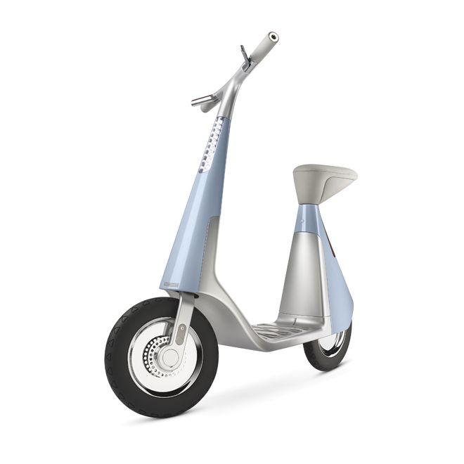 scoot electric scooter – 2005  A simple and stylish solution for urban commuting.