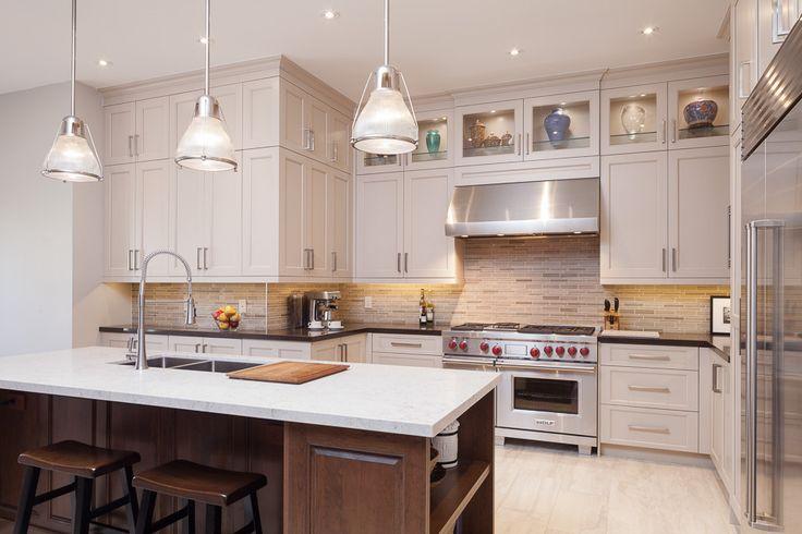 Bianco drift caesarstone cherry cabinets google search for Caesarstone portland