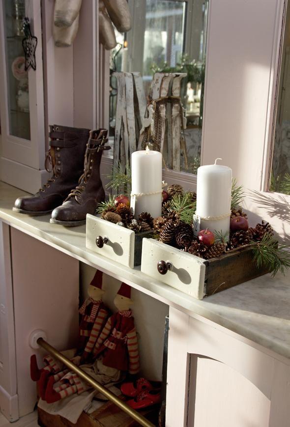 Pynt op til jul i countrystil | ISABELLAS