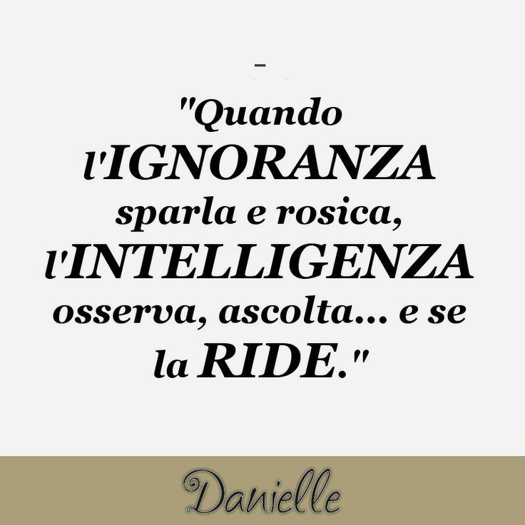 Siate intelligenti!!!