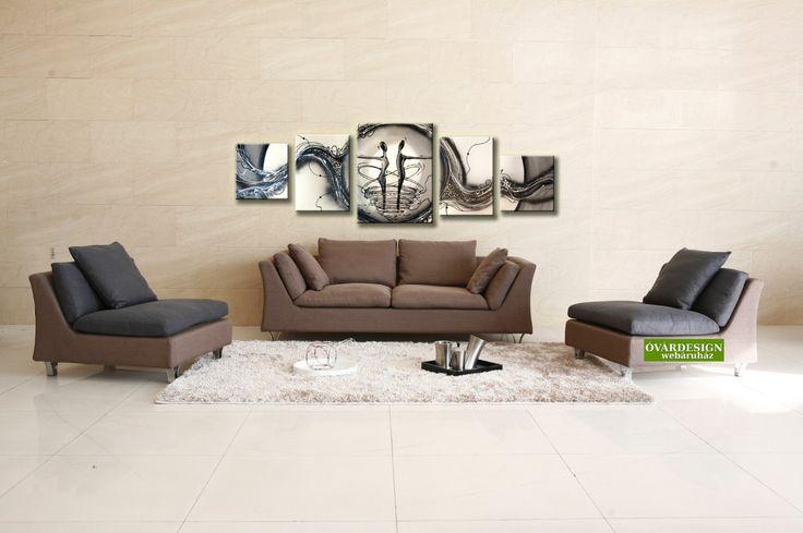 Egyhangú életterek? Keltsd életre a falakat figurális vászonképekkel! 100% kézzel festett képek, nyomtatott kép áráért!