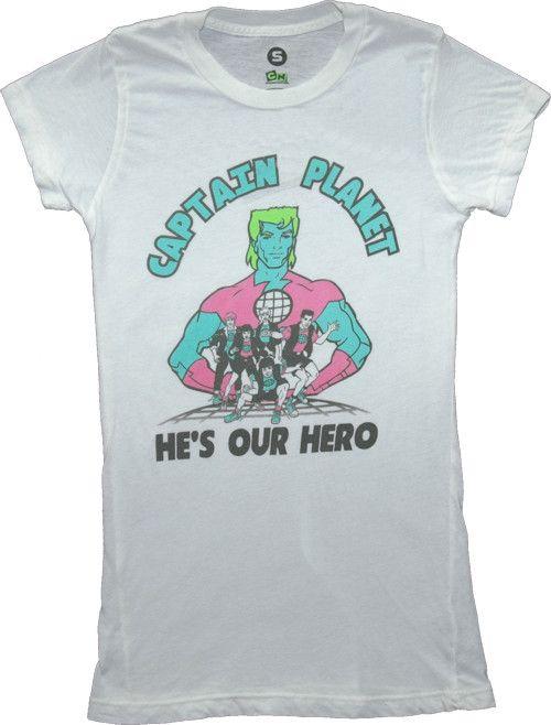 Power Bottom Captain Planet T-Shirt PhXe1nW