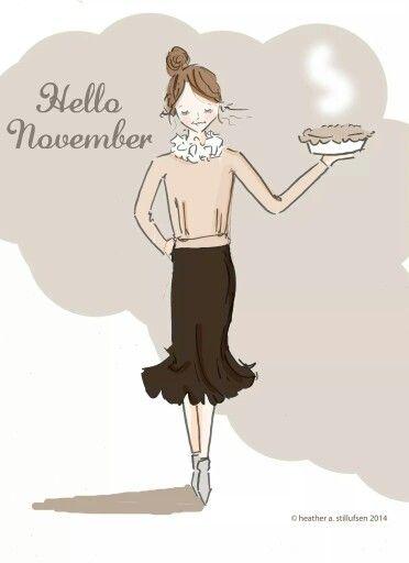 Hello November.