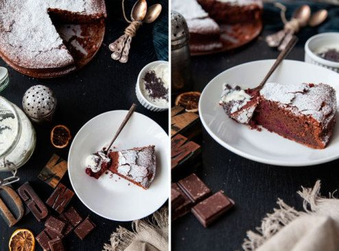 Gluten-free chocolate cake with beet root foodtastic -foodtastic