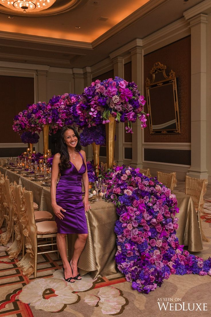 WedLuxe– Karen Tran Master Floral Class   Photography by: Bonnie Sen Photography Follow @WedLuxe for more wedding inspiration!
